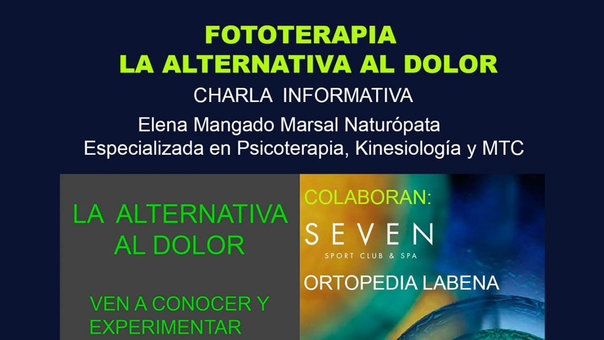 Fototerapia, la alternativa al dolor, llega a Tudela