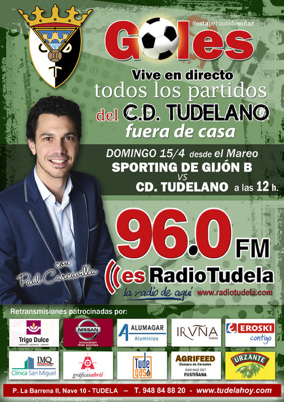 SPORTING TUDELANO 15 ABRIL